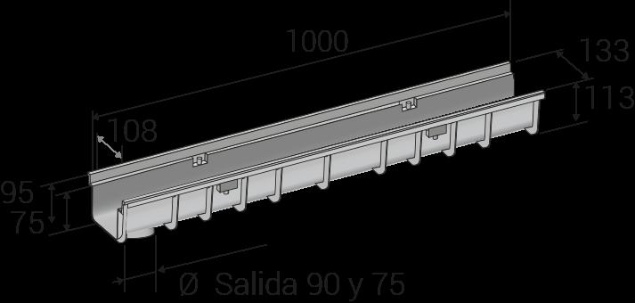 Tiefe 113 mm