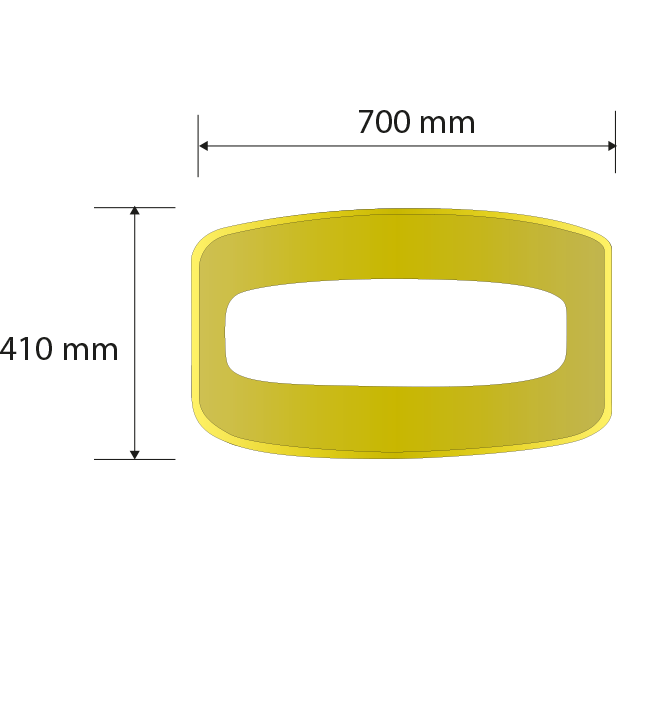 General thickness: 5.4 mm