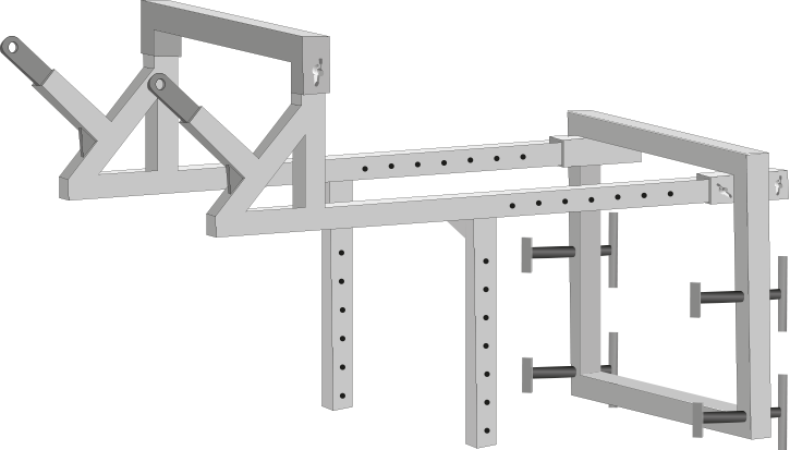 ITM Debris Chute support bracket