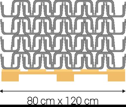 Palette: 80x120 centimètres