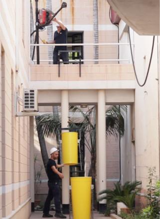 Comment réduire les débris d'un bâtiment