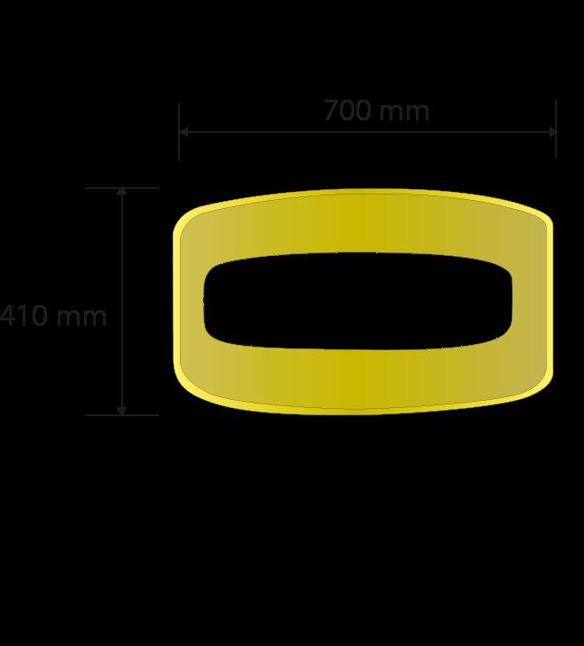 Espesor general: 5.4 mm