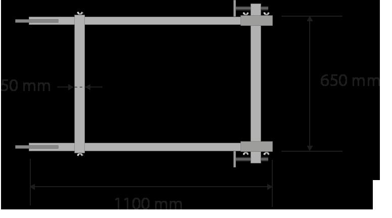 Grosor de las piezas: 40mm